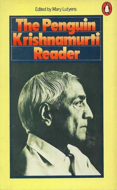 Image for The Penguin Krishnamurti Reader