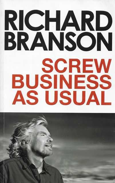 Image for Screw Business as Usual