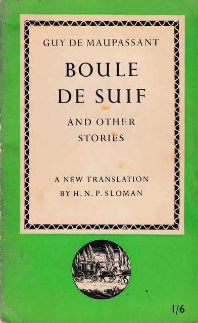 Image for Boule de Suif and Other Stories