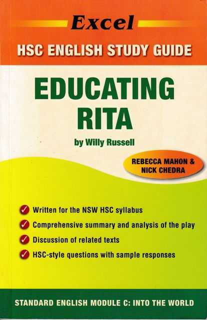 Image for Educating Rita [Excel HSC English Study Guide]