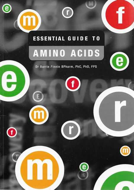 Image for Essential Guide to Amino Acids