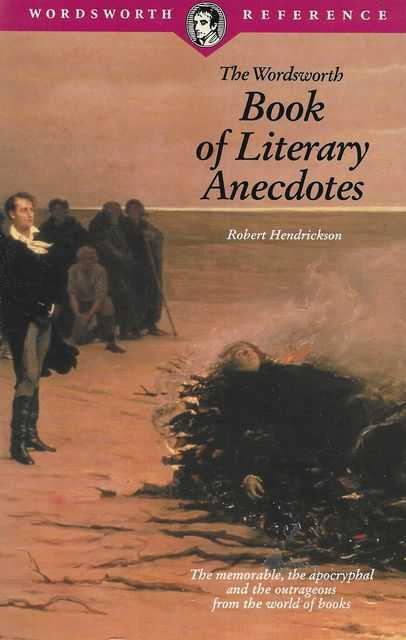 Image for The Wordsworth Book of Literary Anecdotes