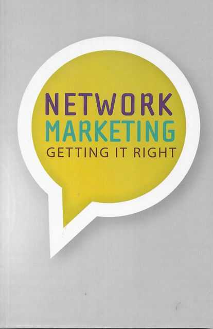 Image for Network Marketing: Getting It Right