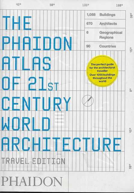 Image for The Phaidon Atlas of 21st Century World Architecture [Travel Edition]