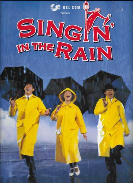 Image for RSL Com presents Singin' In The Rain [Lyric Theatre Sydney 2001] [Programme Souvenir]