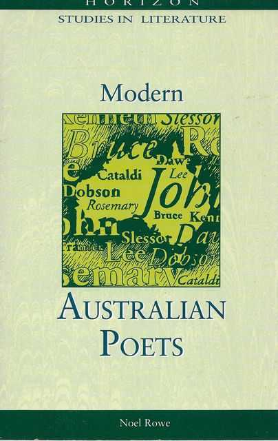 Image for Modern Australian Poets [Horizon Studies in Literature]
