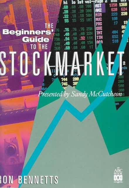 Image for The Beginner's Guide to the Stockmarket