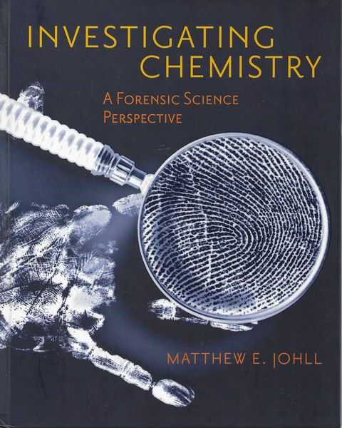Image for Investigating Chemistry: A Forensic Science Perspective