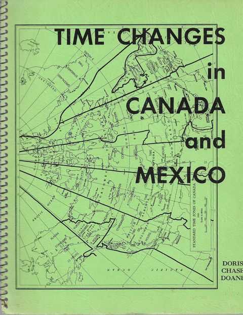 Image for Time Changes in Canada and Mexico
