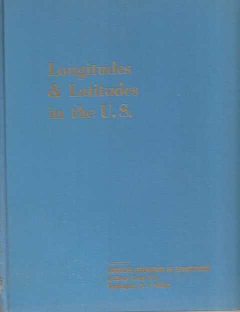 Image for Longitudes and Latitudes in the United States