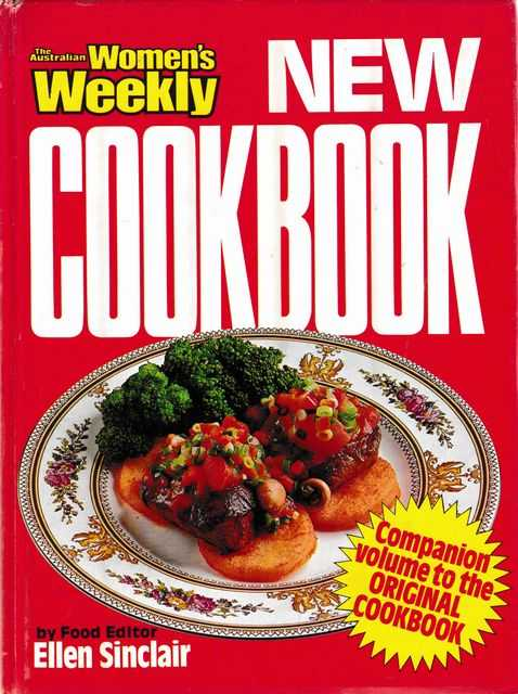Image for The Australian Women's Weekly New Cookbook