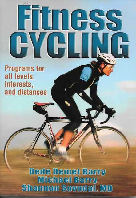 Image for Fitness Cycling: Programs fro All Levels, Interests and Distances
