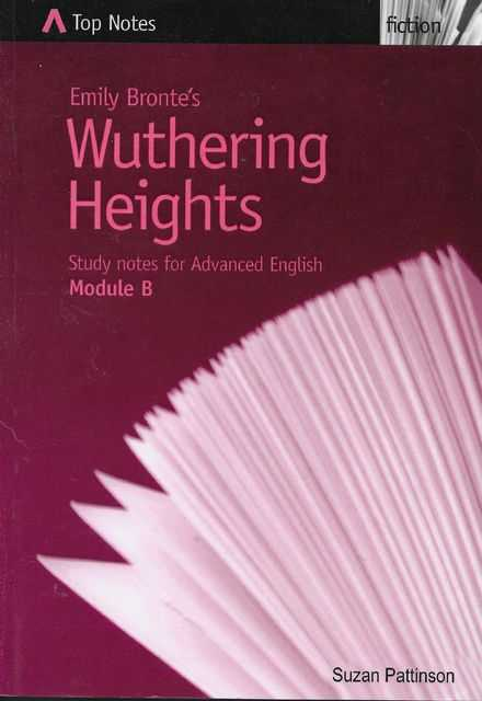 Image for Emily Bronte's Wuthering Heights - Study Notes for Advanced English Module B [Top Notes Drama Guide]