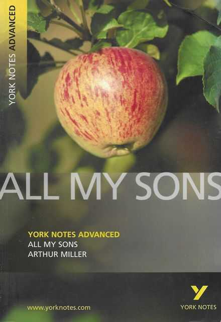 Image for All My Sons by Arthur Miller [York Notes Advanced]
