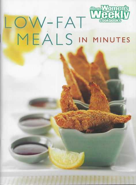 Image for Low Fat Meals in Minutes