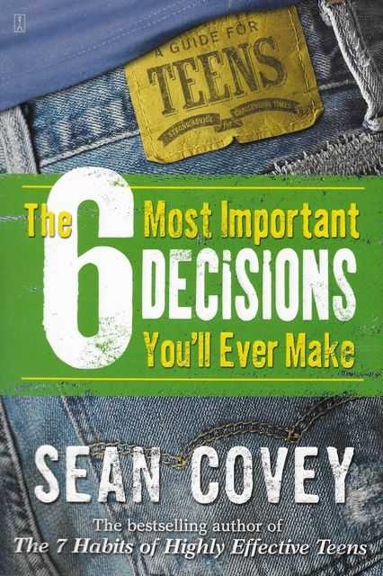 Image for The 6 Most Important Decisions You'll Ever Make
