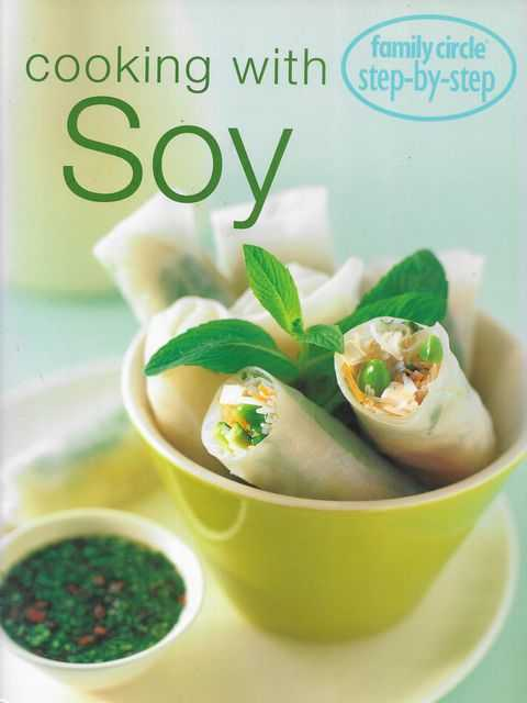 Image for Cooking with Soy [Family Circle Step-By-Step]