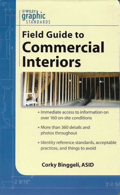 Image for Field Guide to Commercial Interiors