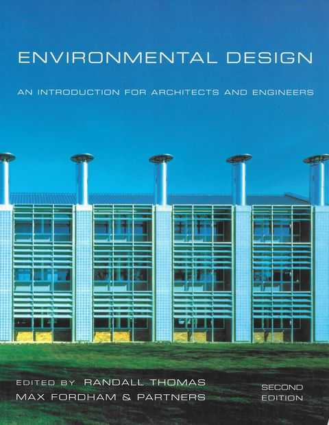 Image for Environmental Design: An Introduction for Architects and Engineers
