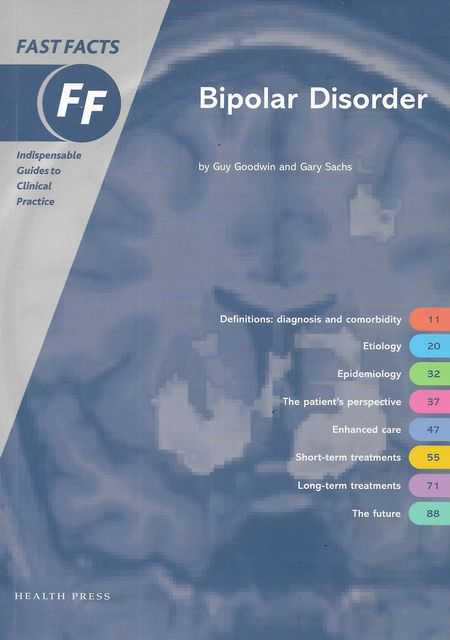 Image for Bipolar Disorder [Fast Facts]