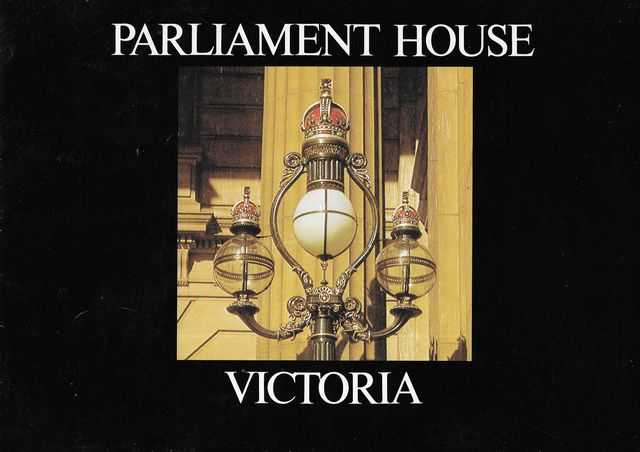 Image for Parliament House Victoria