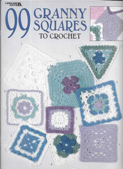 Image for 99 Granny Squares to Crochet