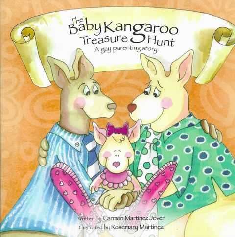 Image for The Baby Kangaroo Treasure hunt: A Gay Parenting Story