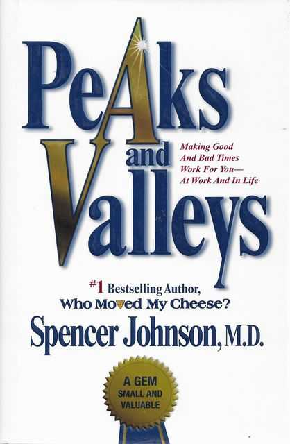 Image for Peaks and Valleys : Making Good And Bad Times Work For You--At Work And In Life