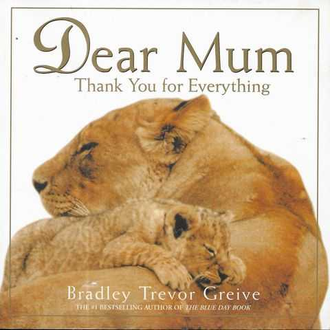 Image for Dear Mum - Thank You For Everything
