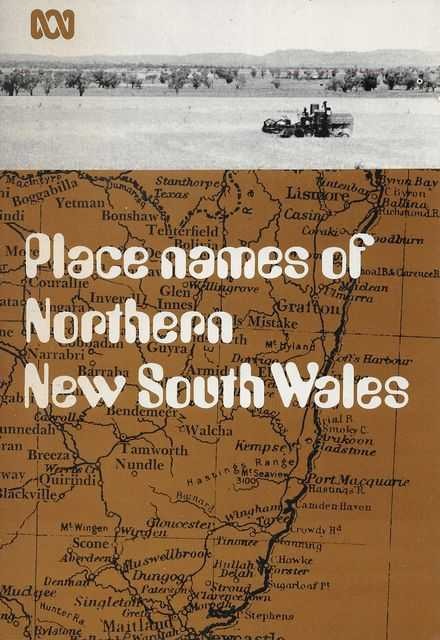 Image for Place Names of Northern New South Wales