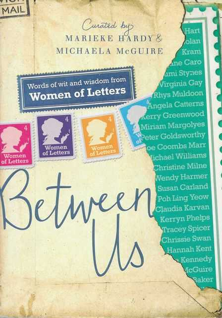 Image for Between Us: Words of Wit and Wisdom from Women of Letters