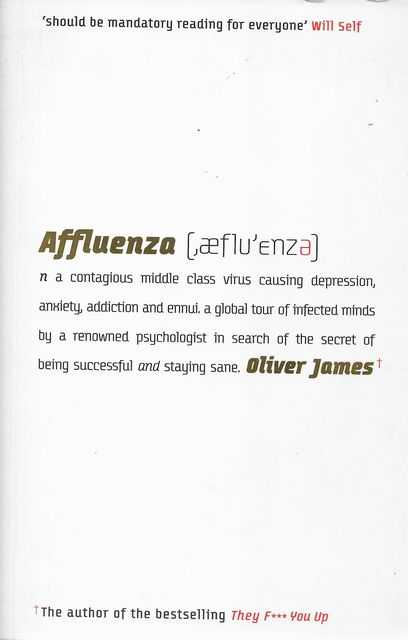 Image for Affluenza