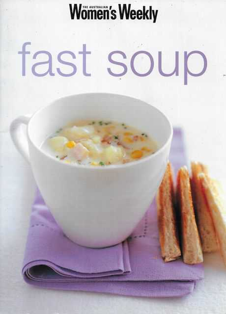 Image for Fast Soup [Mini Cookbook Series]