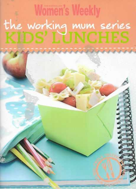 Image for Kids' Lunches [The Working Mum Series]