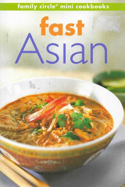 Image for Fast Asian [Family Circle Mini Cookbooks]