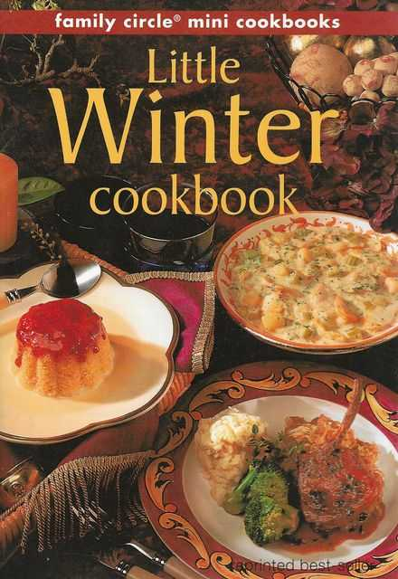 Image for Little Winter Cookbook [Family Circle Mini Cookbooks]