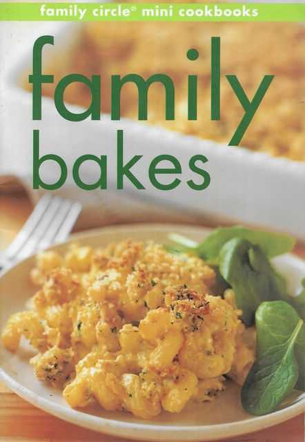 Image for Family Bakes [Family Circle Mini Cookbooks]