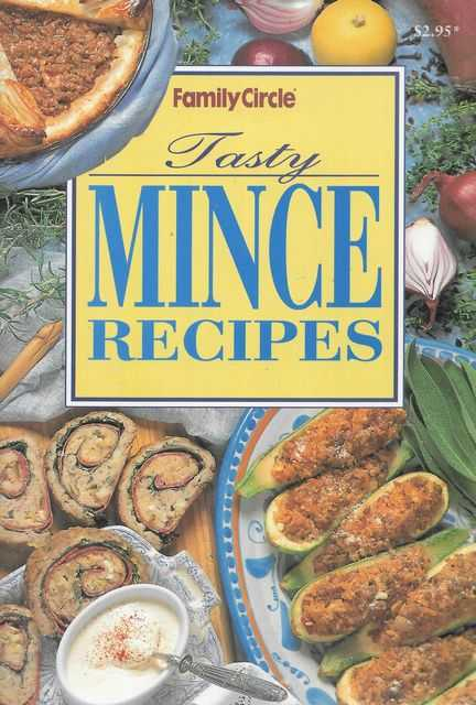 Image for Tasty Mince Recipes [Family Circle Mini Cookbooks]