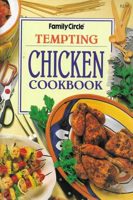 Image for Tempting Chicken Cookbook [Family Circle Mini Cookbooks]