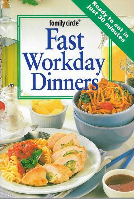 Image for Fast Workday Dinners [Family Circle Mini Cookbooks]