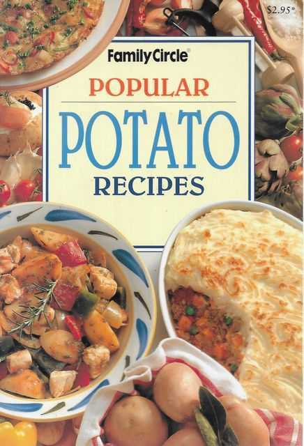 Image for Popular Potato Recipes [Family Circle Mini Cookbooks]