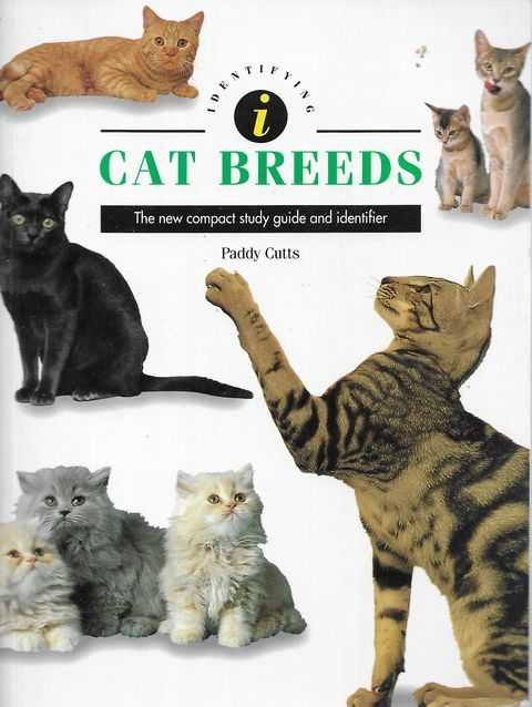 Image for Indentifying Cat Breeds: The New Compact Study Guide and Identifier