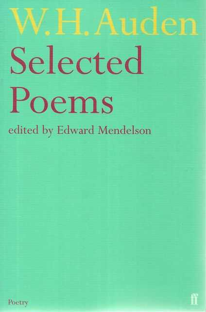 Image for W. H. Auden: Selected Poems