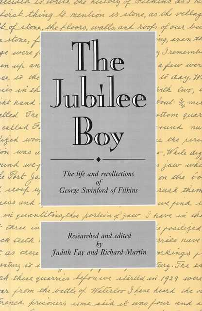Image for The Jubilee Boy: The Life and Recollections of George Swinford of Filkins