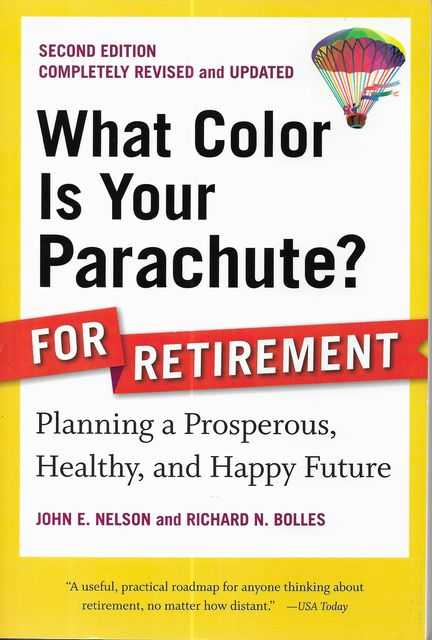 Image for What Color is Your Parachute? for Retirement
