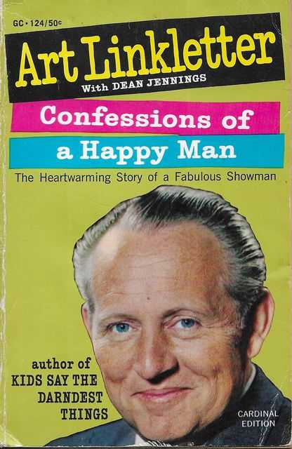 Image for Confessions of a Happy Man: The Heartwarming Story of a Fabulous Showman