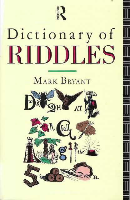 Image for Dictionary of Riddles