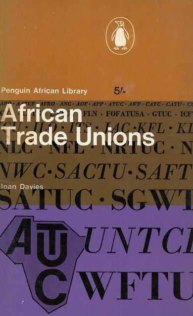 Image for African Trade Unions