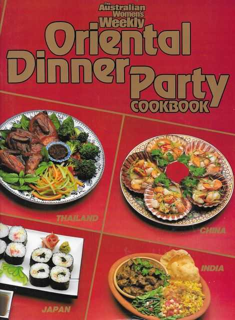 Image for Oriental Dinner Party Cookbook