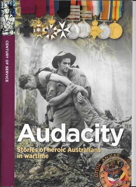 Image for Audacity: Stories of Heroic Australians in Wartime